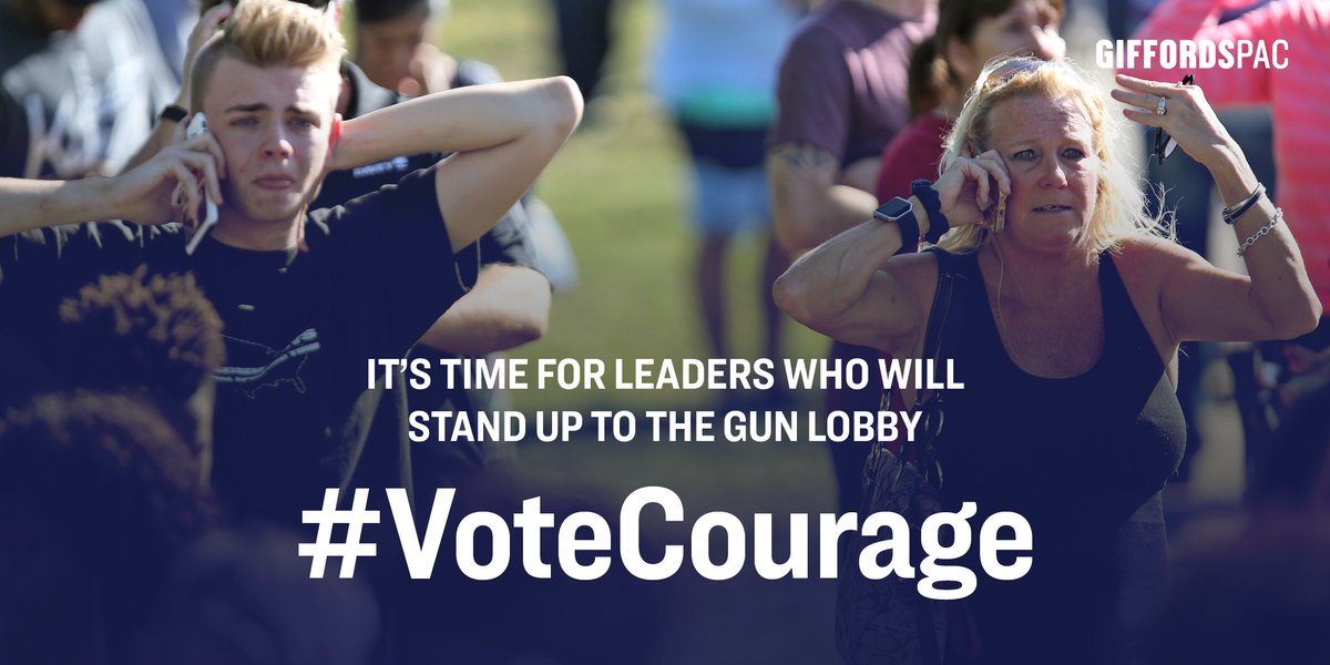 This Congress is failing the American people when it comes to making our communities safer from gun violence. Voters have the power to change that in November.   Take our pledge to #VoteCourage. https://t.co/u51qAfnDrm