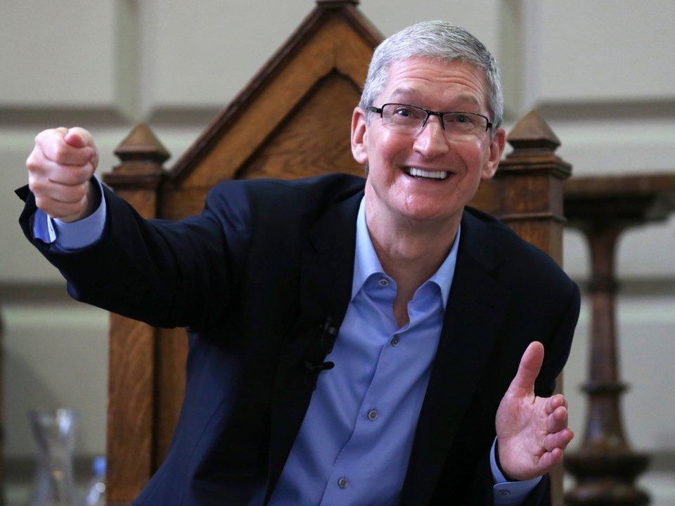 AppleのCEOティム・クック「お金というものが消えていくのを見たい」 #ニュース #人物 #アップル #アップル製品 #iPhone #ApplePay https://t.co/RTilZyn2TN