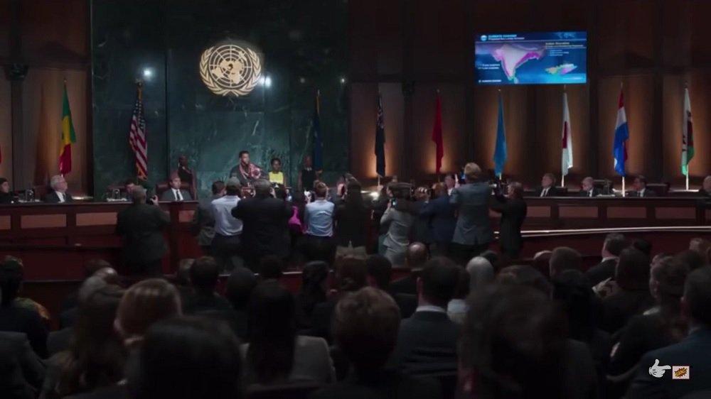 PANTERA NEGRA BLACK PANTHER WALES PAÍS DE GALES REINO UNIDO UNITED KINGDOM UN ONU