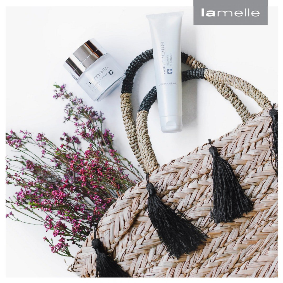 Dermaheal address all 3 process of the ageing process, and is perfect for those looking for the best form their skincare range. #Lamelle