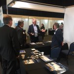 Great day at the Northern #Adelaide Meet the Buyer event yesterday at the Adelaide Convention Centre. 600 visitors to our stand. Exciting times ahead for local business with #SEA5000 #DefenceIndustry