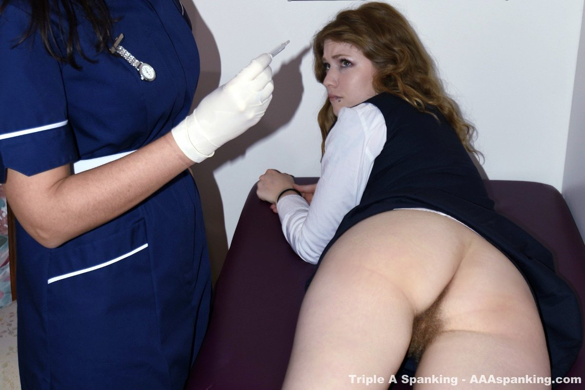 Rectal temperature and spanking schoolgirl - 2 part 10