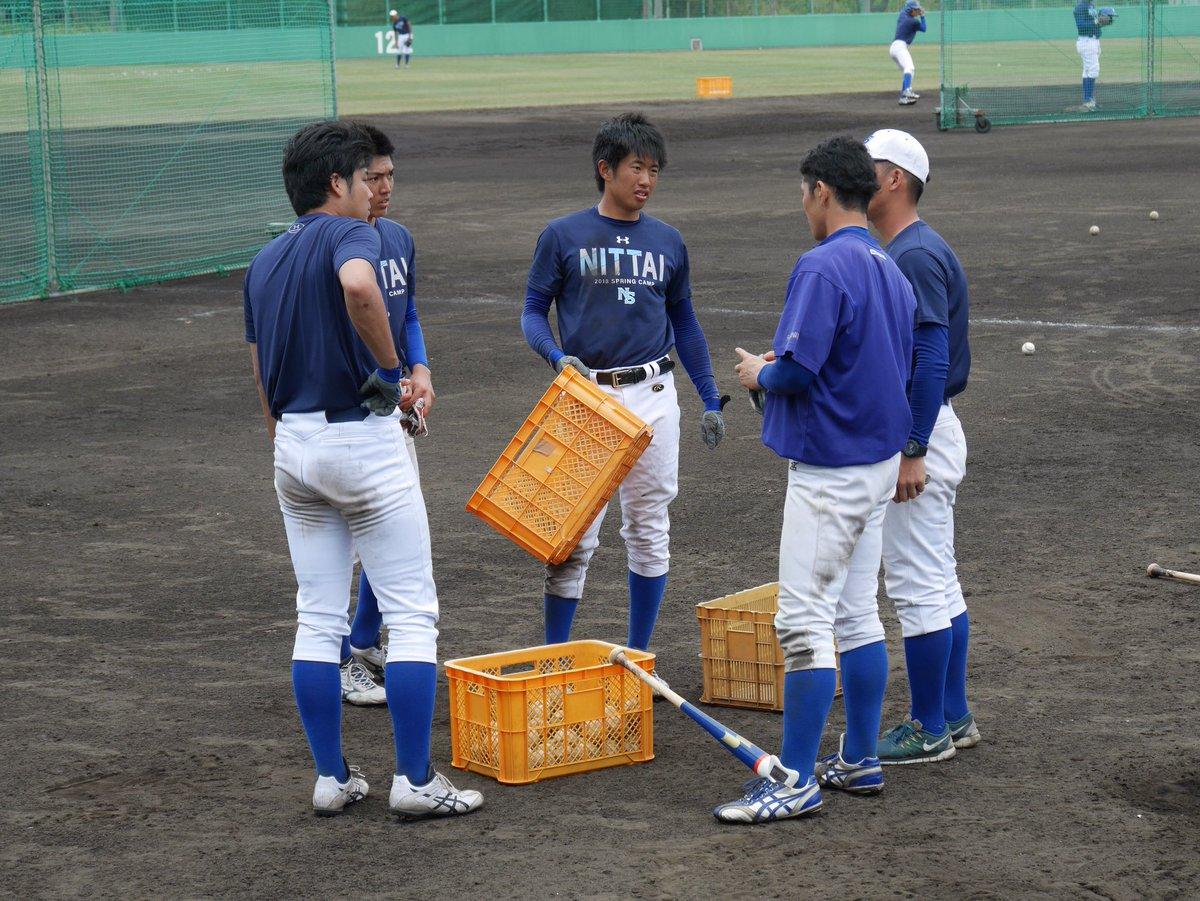 "日本体育大学硬式野球部 na Twitterze: ""#バッティング開始 #日体大 ..."