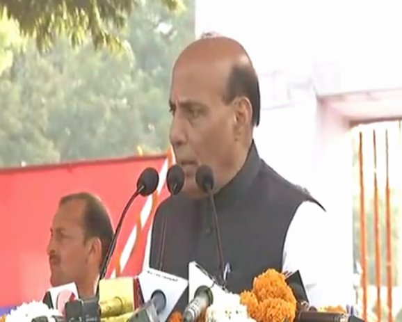 Rajnath Singh lauds police for arrest of IM operative