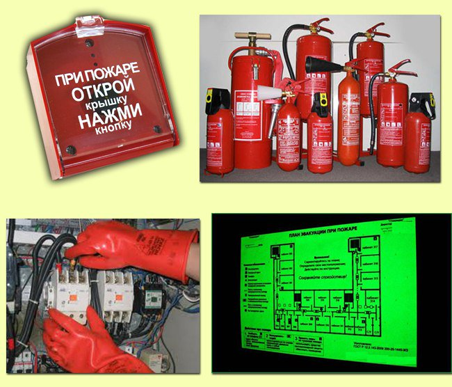 Задачи пожарной охраны в области организации конспект