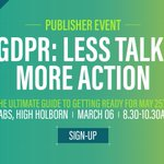 May 25 is fast approaching. Join @Captify's unmissable breakfast event equipping publishers with the guidelines, actions and tech tools to tackle #GDPR. Request a space today! https://t.co/1Rr5PwxVq4