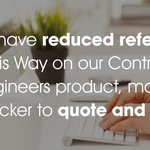 We have reduced referrals on This Way on our flagship product, quote here https://t.co/U4kQOWNF5W