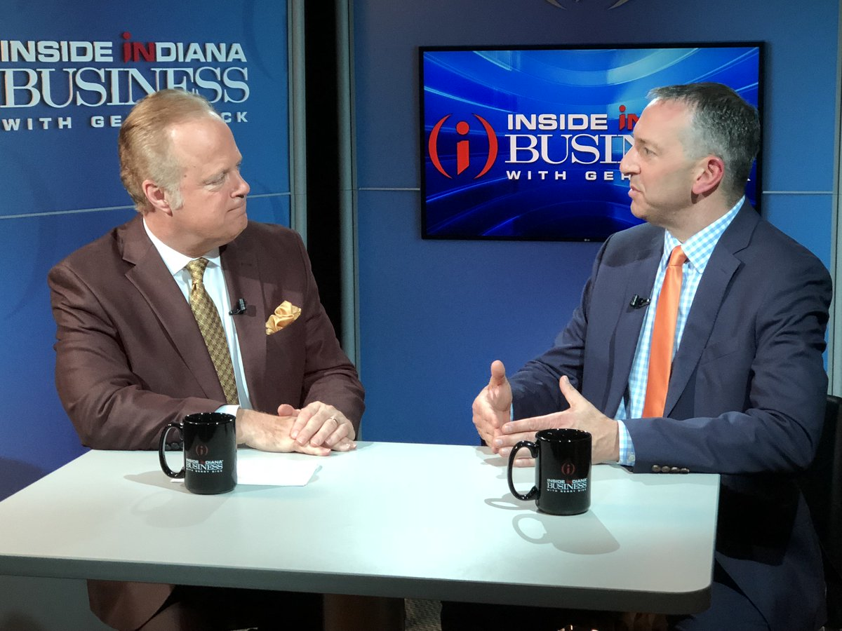 FORT WAYNE: Catch @GerryDick chatting with Dirk Rowley on @INsightABC21 today at 12:30p on @ABC21WPTA.