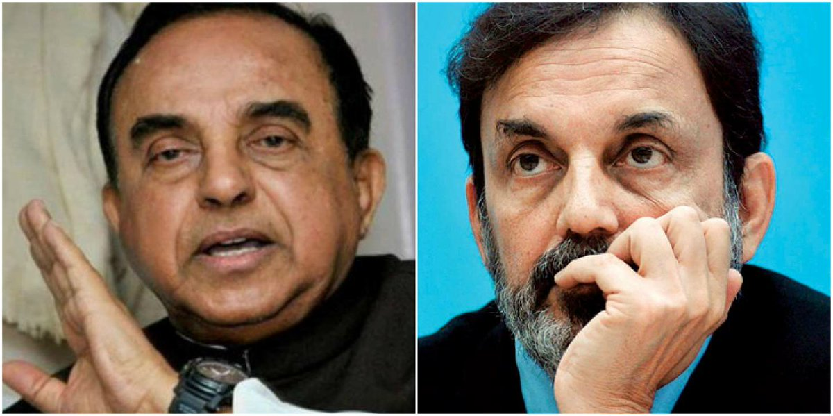 Subramanian Swamy alleges NDTV's Prannoy Roy will escape to South Africa; Roy calls him a liar https://t.co/cEoEsZnPA9