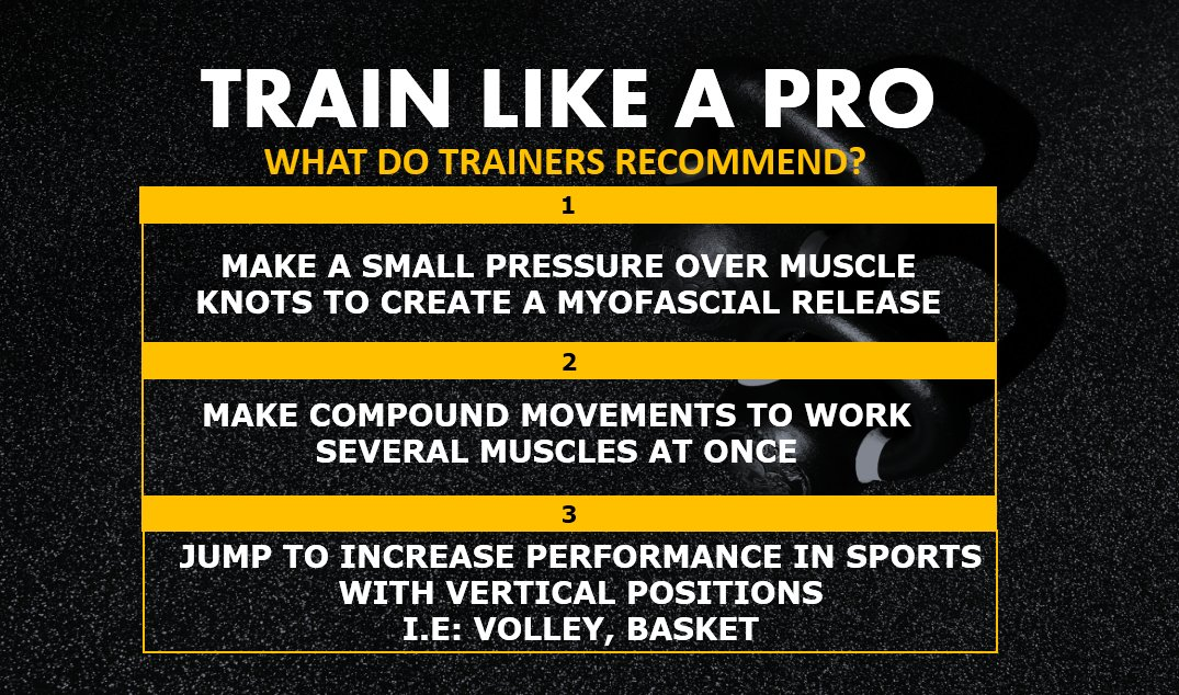 Train like a professional and improve your workout!