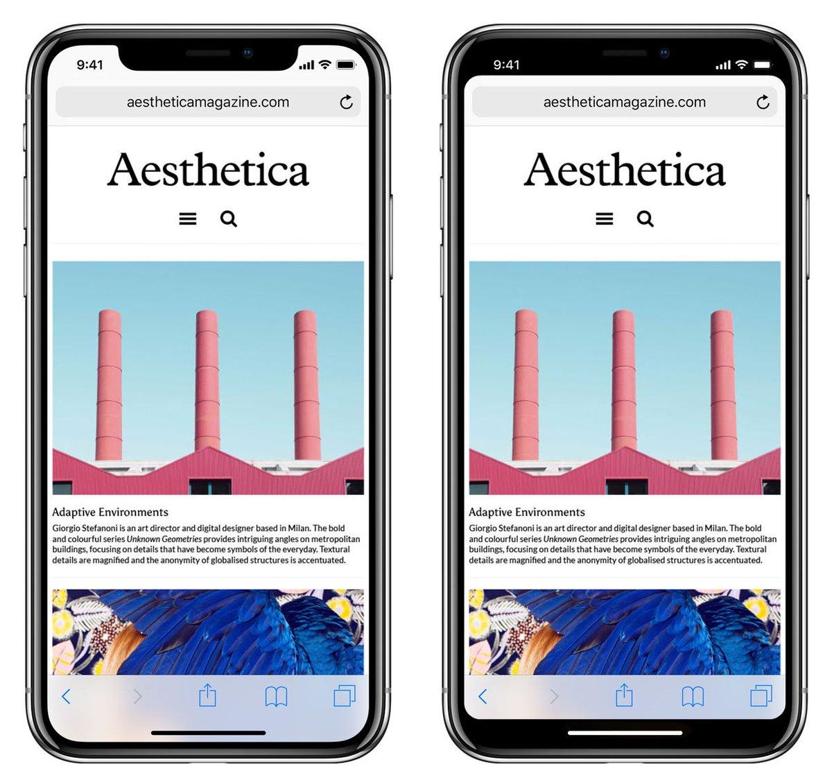 苹果强行要求所有开发者适配 iPhone X 的全面屏和刘海。决定从 4 月 18 日起执行,所有提交的新应用必须适配 https://t.co/0GJBcEiPYz 1