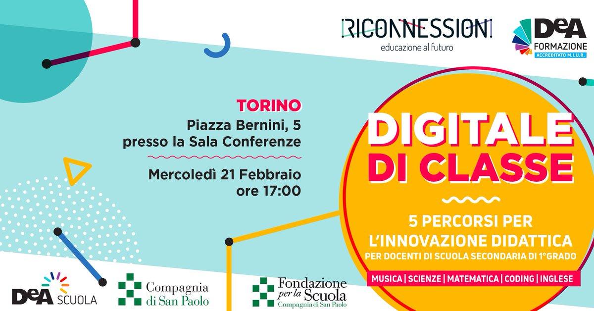 Riconnessioni On Twitter At Deascuola E Fondazione Per La Scuola