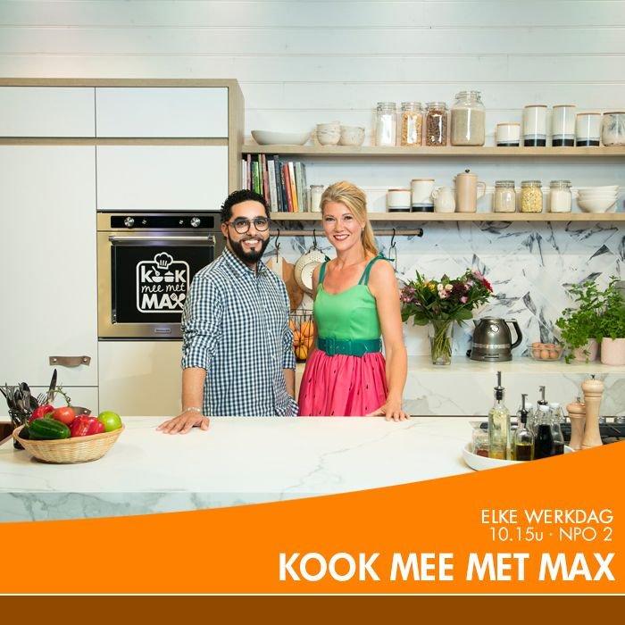 """omroep max on twitter: """"kijk vandaag naar @kookmeemetmax voor"""