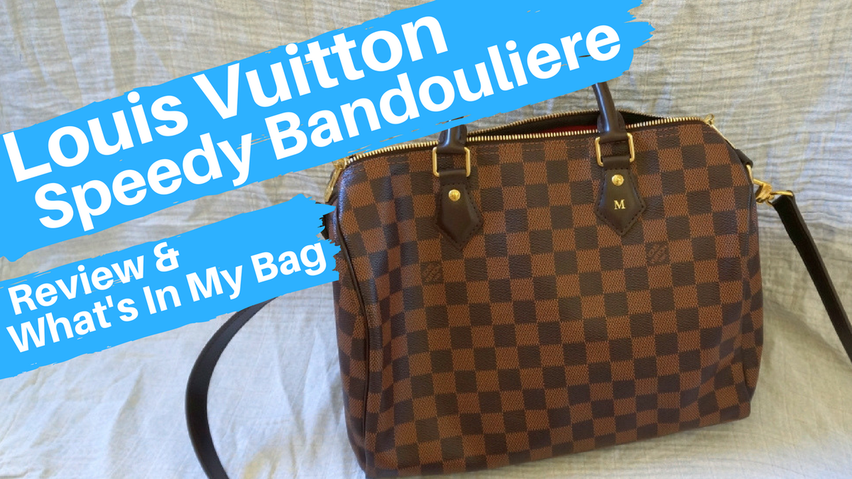 c64aedf40261 I love my Louis Vuitton speedy bandouliere! I think it s the perfect mum  bag