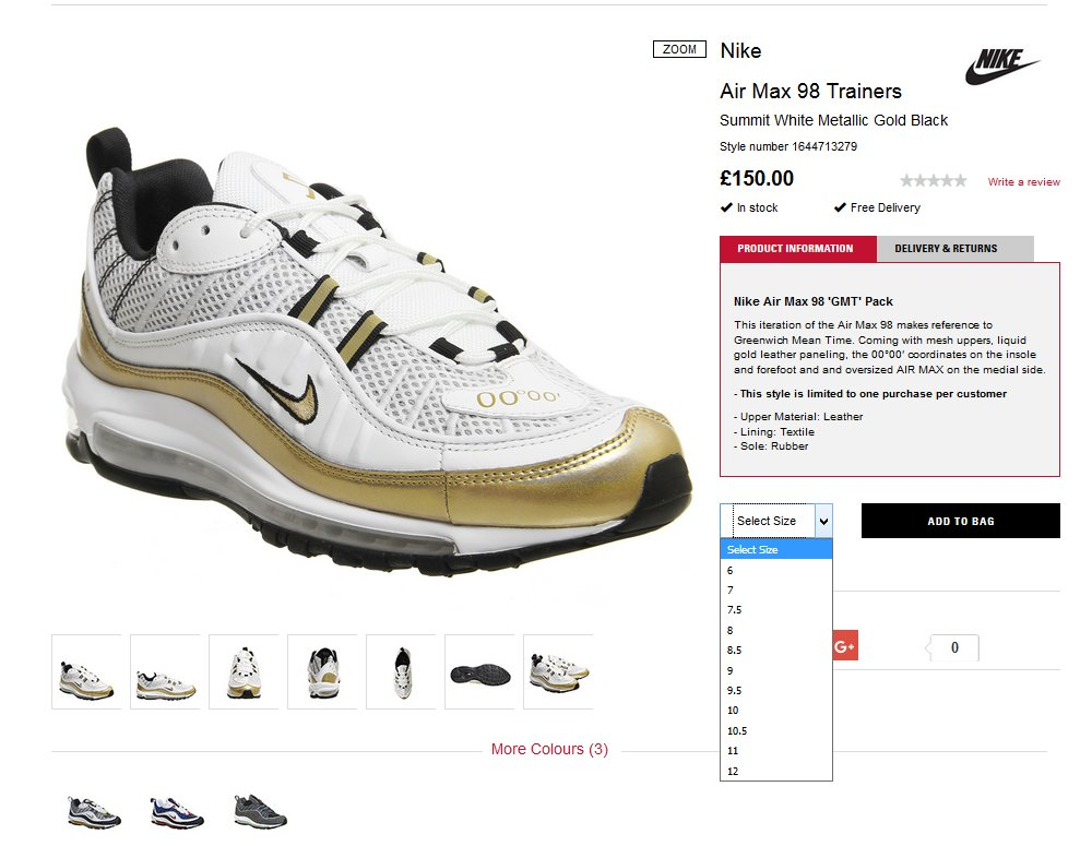 low priced b5614 b1a43 MoreSneakers.com on Twitter: