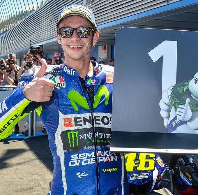 Happy birthday to the legend of MotoGP VALENTINO ROSSI