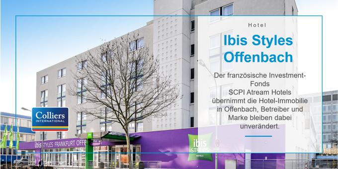 Ibis Styles Offenbach hat neuen Eigentümer. #hotels #deal #realestate Unsere Dienstleistungen für Hotelimmobilien im Überblick: t.co/a30O9cmL78