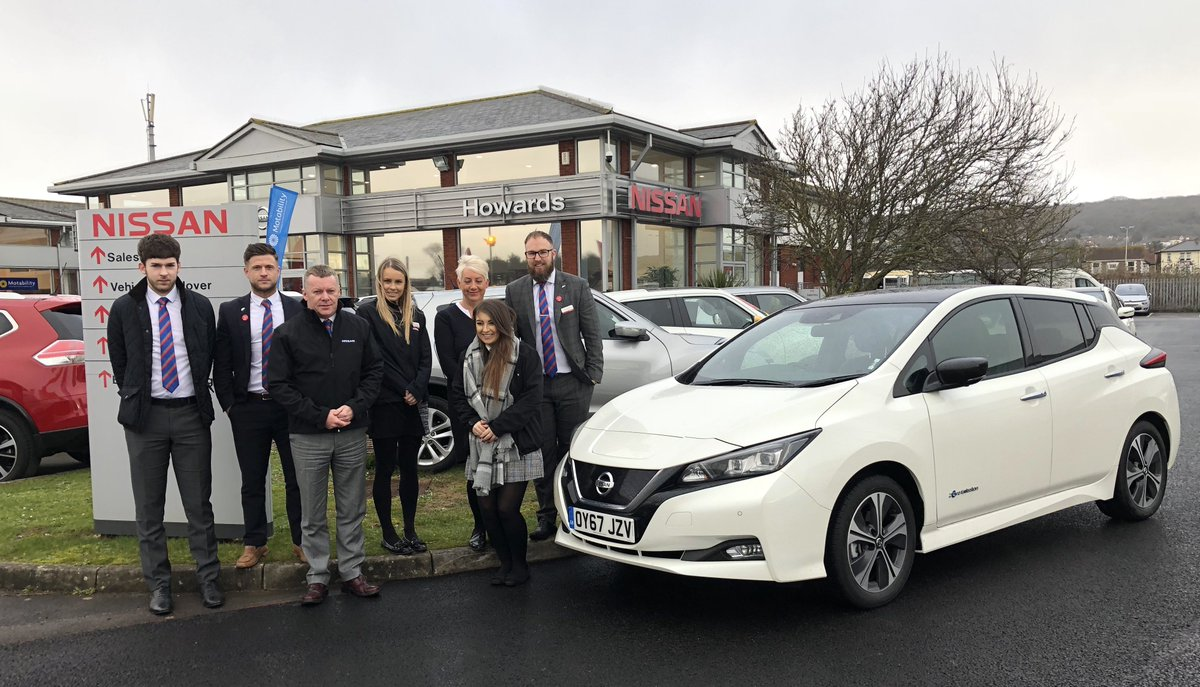 Thanks to everyone at @HowardsGroup in Weston-Super-Mare for having us on the #SimplyAmazing #Nissan #LEAF tour! https://t.co/YGuowfbCeM https://t.co/AGDZ7ZrlV8