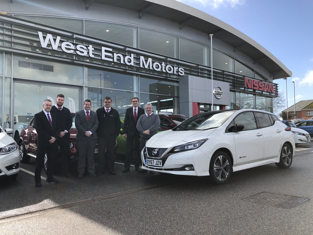 Beautiful Bodmin was next on our list of stops on the #Nissan #LEAF tour, thanks @WestEndMotors for being so welcoming! https://t.co/YGuowftd6k https://t.co/tr7rYjUpmz