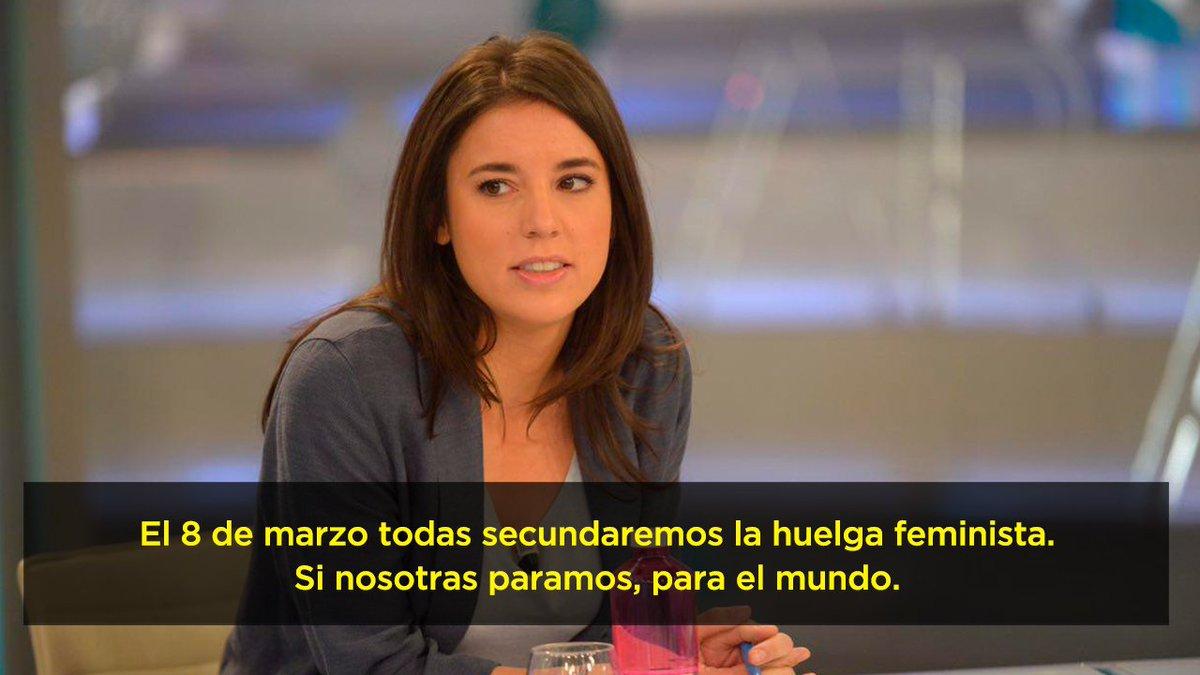 Las mujeres de Unidas Podemos haremos hu...