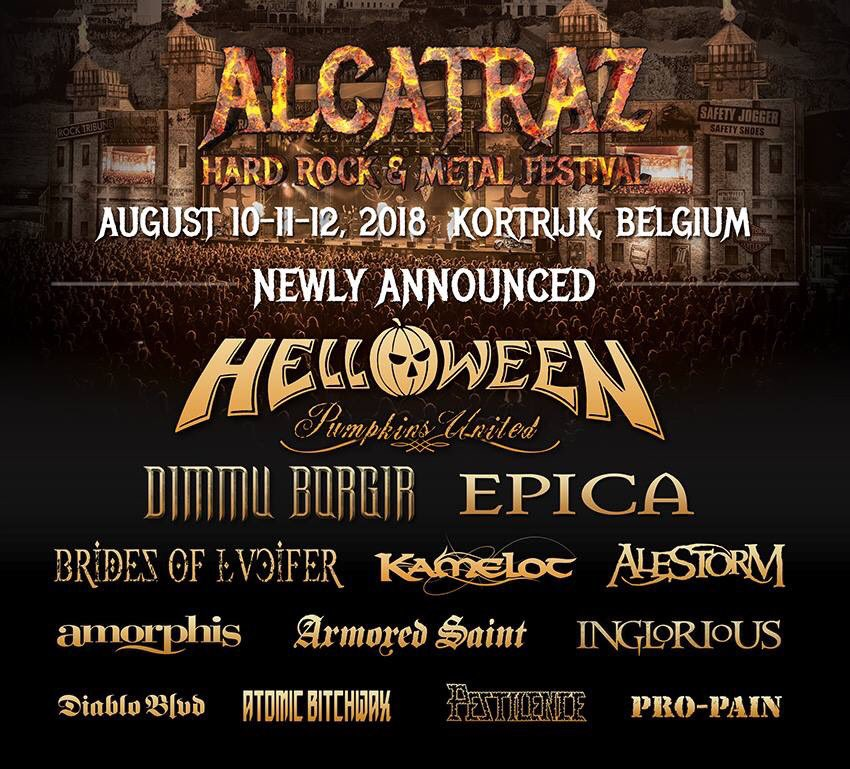 #Amorphis will play @AlcatrazMusic on 10.8.2018 in Kortrijk, Belgium 🇧🇪   https://t.co/RDyPZcIhv7 https://t.co/Oz0skkxuew