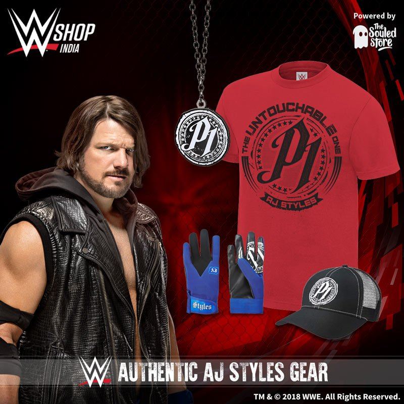Become #PHENOMENAL with authentic @AJStylesOrg gear! bit.ly/AJSouledStore