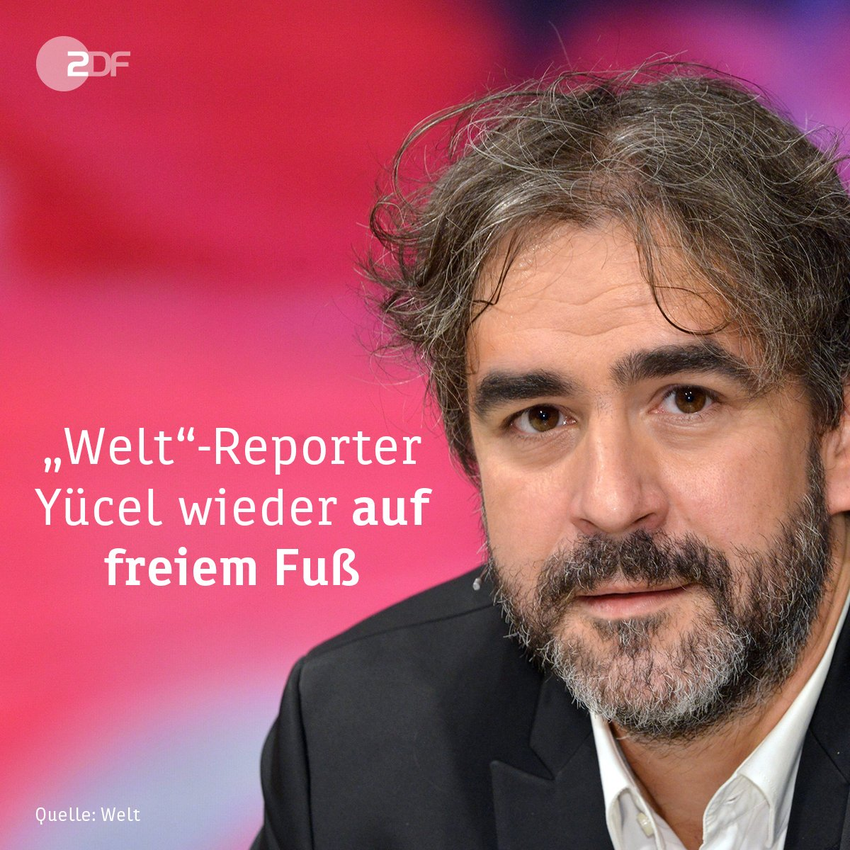 EIL ++++ Der in der Türkei festgehaltene Welt Reporter #DenizYuecel ist nach Angaben der Zeitung wieder frei.