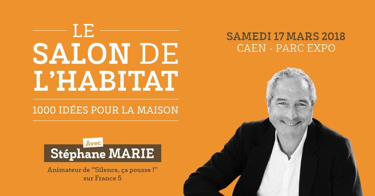 #SalonHabitat #Caen 🏡 Stéphane MARIE, animateur #Silencecapousse sur @France5tv sera présent au #ParcExpoCaen samedi 17 mars prochain ! ➡️ https://t.co/rP4bR8EyPl https://t.co/XynlBpEV1m