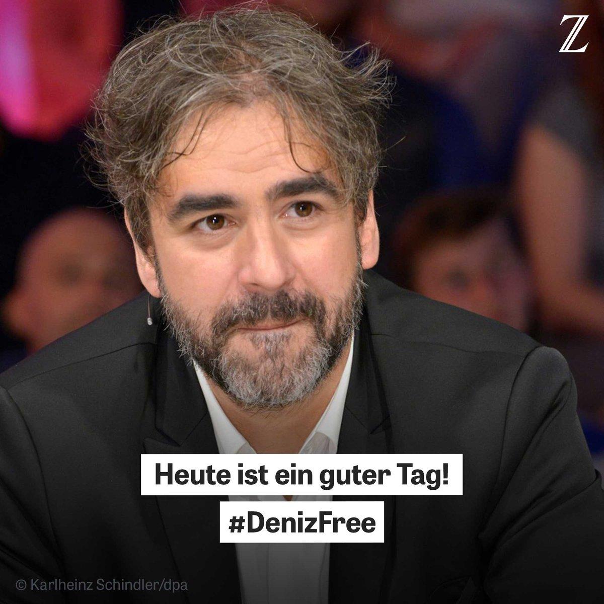 Gute Nachrichten aus der Türkei: #DenizYücel ist frei. https://t.co/k1EU9VLQce #DenizFree #FreeDeniz