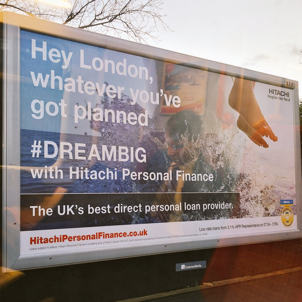 """#recap What an advertising fail. People are saying this Hitachi Finance ad looks like """"someone's just hung themselves as a result of crippling debt""""  https://t.co/I8gw2n0j1b  (spotted by @ballantine70)"""
