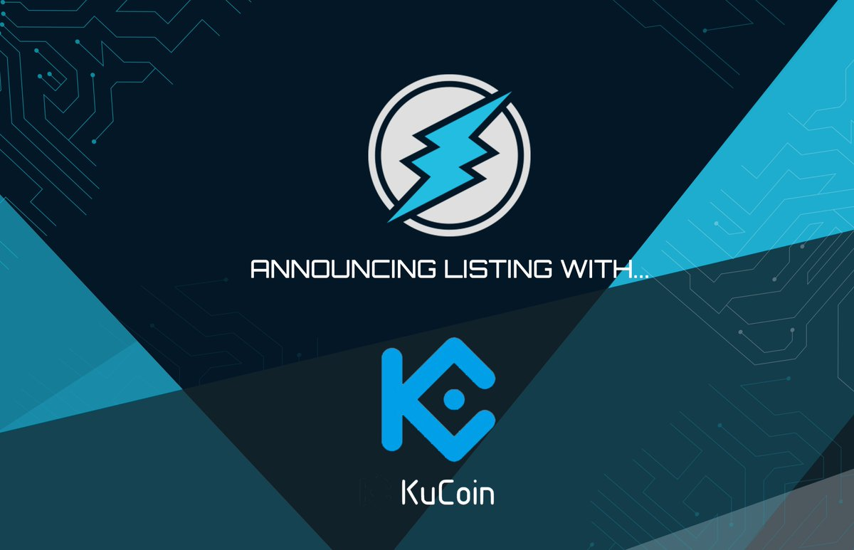 On Ku Coin Exchange We Can Now Officially Confirm That ETN IS Set To Be Listed Next Week