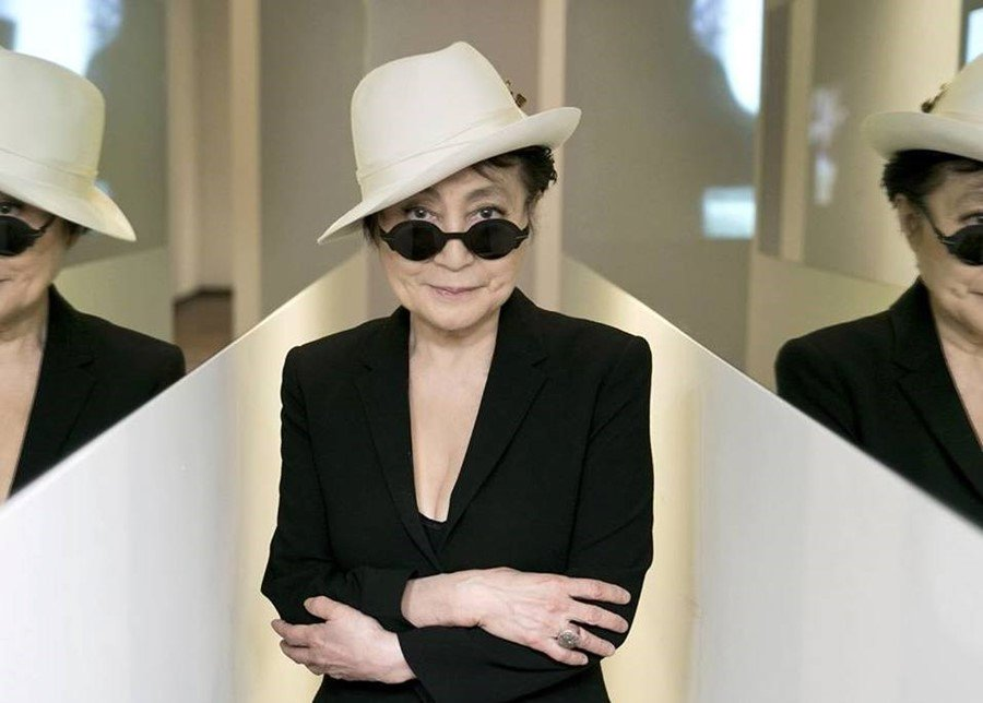 Happy birthday Yoko Ono! 🌹