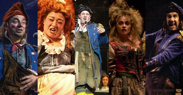 Les Miserables Us On Twitter Everybody Raise A Glass J Anthony Crane And A Guinner Join A Long Line Of Talented Thenardiers Check Out This Playbill Beyondthebarricade Feature To Read More On The