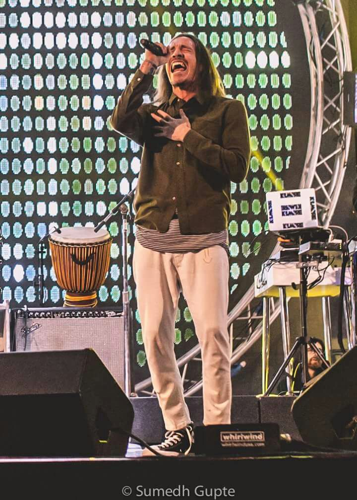 Belated happy birthday Brandon Boyd!! Shot at VH1 Supersonic,Pune! :Sumedh Gupte