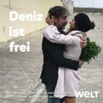 🔴 BREAKING: WELT-Korrespondent Deniz Yücel verlässt das Gefängnis und ist frei https://t.co/FtGRhg0ClW #FreeDeniz