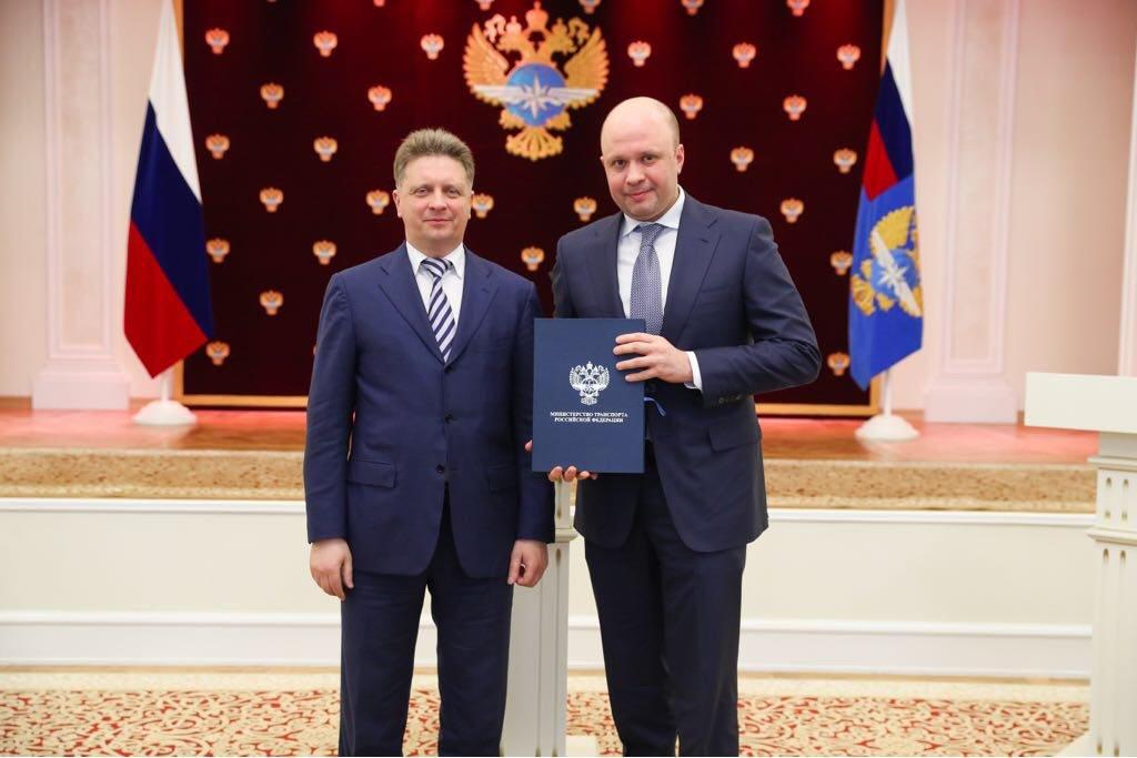 Министр транспорта Максим Соколов объявил благодарность главе #AZIMUT https://t.co/YNkXzwMIgx https://t.co/yEXrOTrS2R