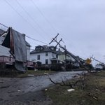 DAYLIGHT PICS of storm damage in Uniontown. I'm so glad everyone we have spoken to is OK. Hearing them tell stories about this storm is frightening. https://t.co/nlW33Efulx @WPXI