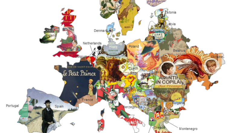 Map Of France For Children.Hackmatack On Twitter This Children S Literature Map Shows The
