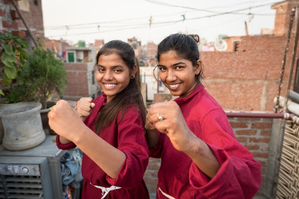 As our week of exploring #WhatWorks to end violence against children at the #EndViolenceSWE summit draws to a close, take a moment to see the impact of our self-defence project in Delhi! bddy.me/2C0sJA8