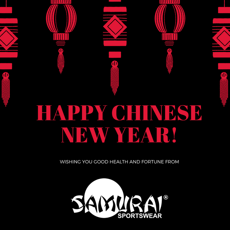 test Twitter Media - Wishing you all good health and fortune for the #YearoftheDog2018 from all at Samurai Sportswear! 🎉 🐶 #ChineseNewYear https://t.co/f8feiGVHy0