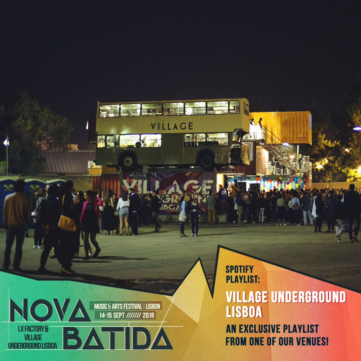 Check out these killer playlists from our Portuguese brothers & Sisters, Village Underground Lisboa and @NovaBatida...