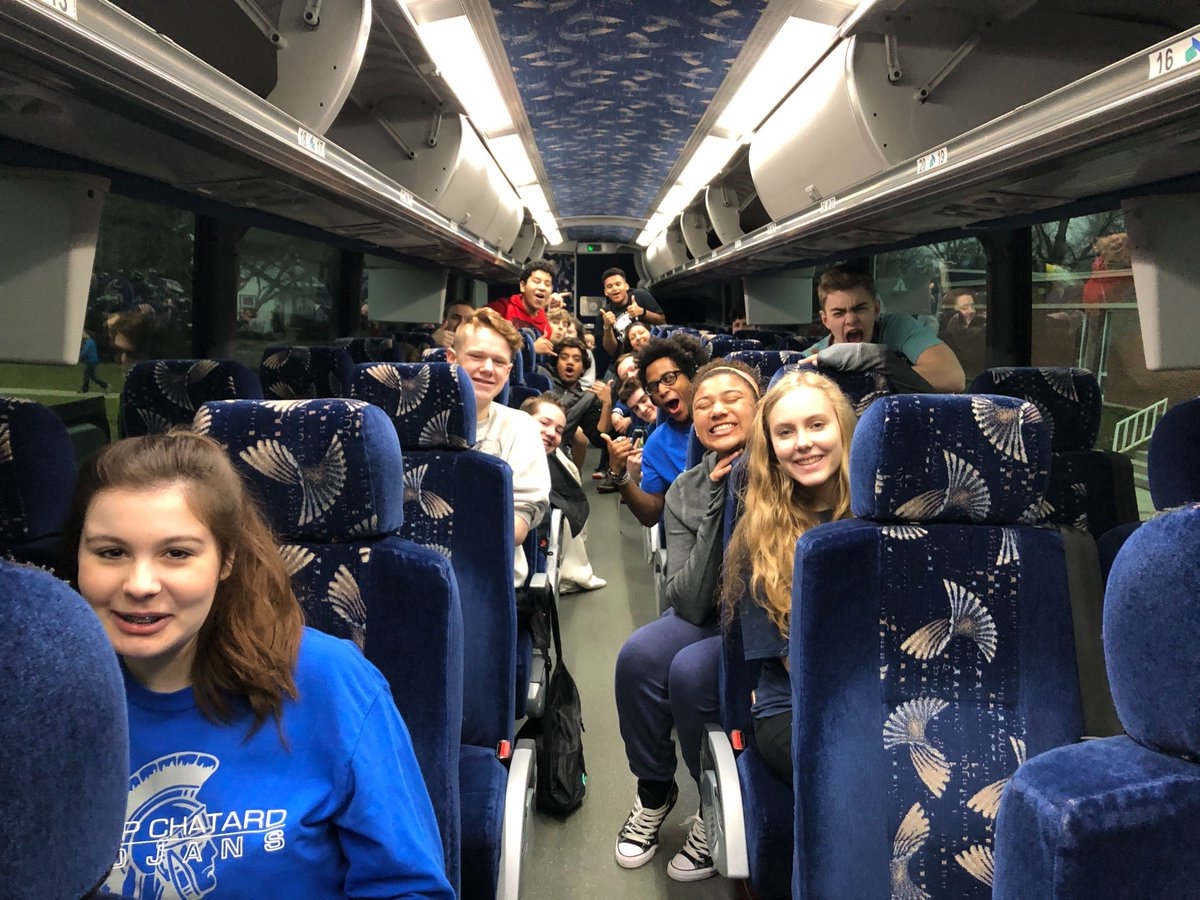 test Twitter Media - Members of @BishopChatardHS's Performing Arts Dept. hit the road for Nashville, Tennessee this morning. Learn, enjoy, and safe travels Trojans! https://t.co/kOBsqnjkjC