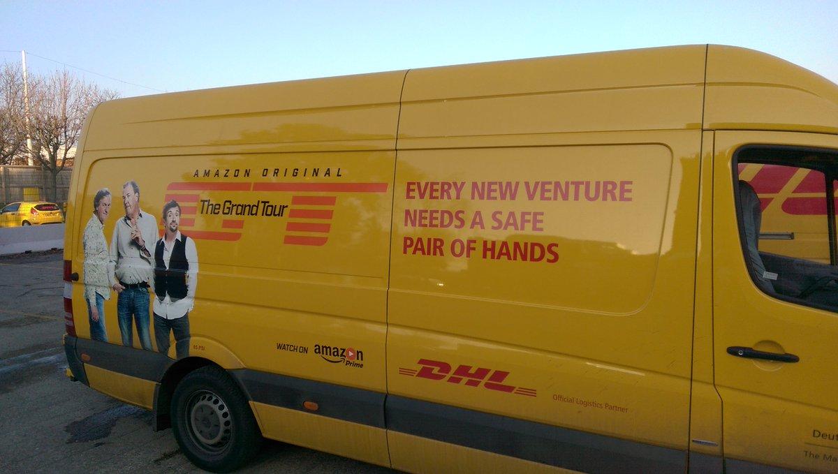 DHL Express no Twitter: