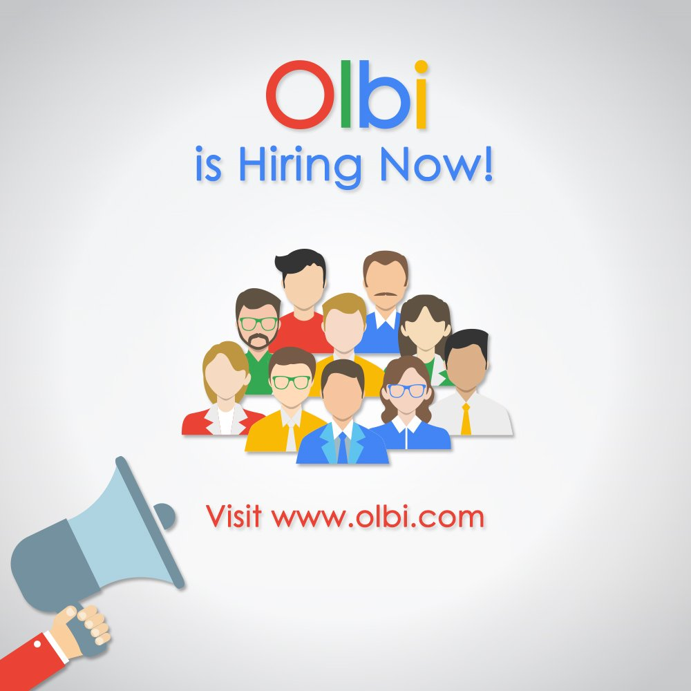 Olbi is now hiring a #Sales #Manager, a Sales #Consultant & a #Telemarketing Consultant Learn more about these #Positions and other #Vacancies by visiting https://t.co/F4SAtmte94 https://t.co/AOiSZeWEs4