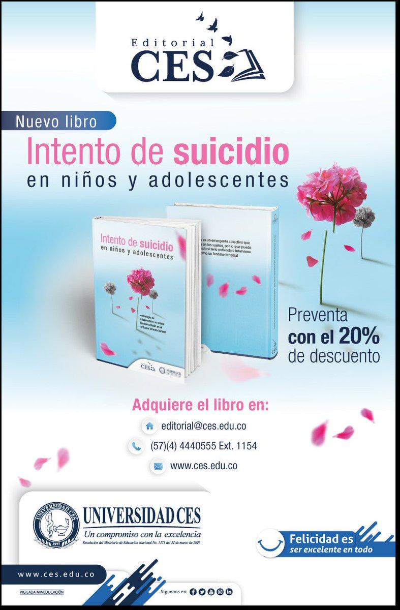 """Los últimos 45 años las tasas de suicidio han aumentado en un 60 % a nivel mundial. Cada año se suicidan casi un millón de personas, lo que supone una tasa de mortalidad """"global"""" de 16 por 100.000, o una muerte cada 40 segundos (OMS, 2012). @UniversidadCES"""