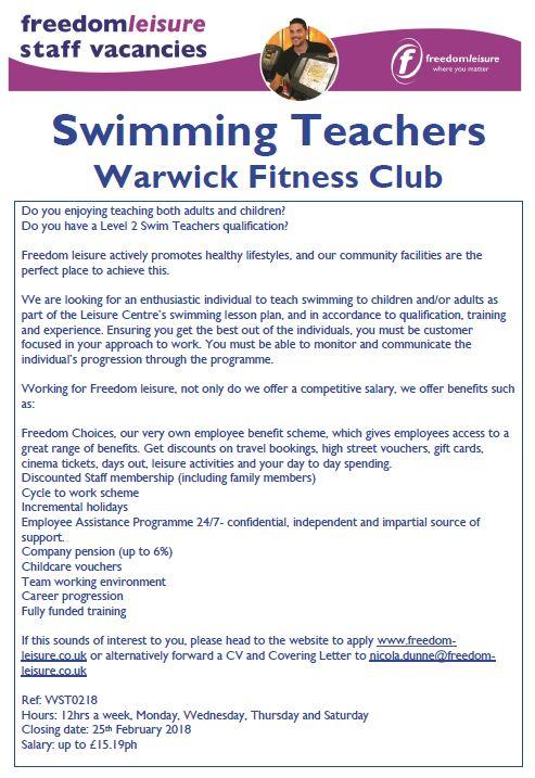 Swim West Midlands on Twitter: \