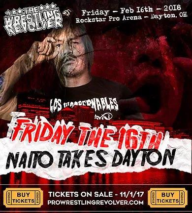 Is Dayton Ready? The #SoldOut #NaitoTakesDayton IS TONIGHT!