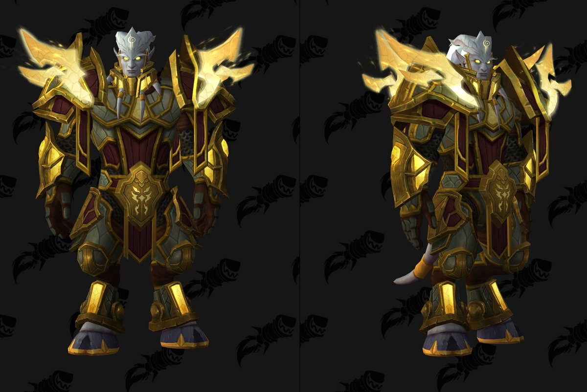 Wowhead On Twitter Void Elf And Lightforged Draenei Heritage Armor Visuals Recently Received Hotfixes Https T Co K0tvtj7vev Our professionals will help you to obtain this unique look in wow bfa! void elf and lightforged draenei