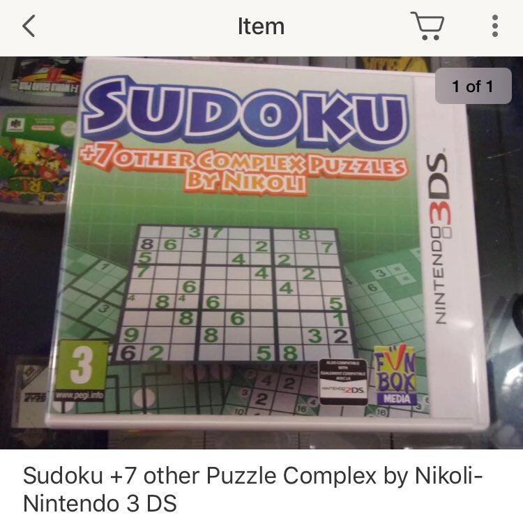 さーて!ここでゲームコレクターのみんなにクイズの時間です!問題!ebayのビデオゲームカテゴリで現在最高価格を誇るこちらの3DSのゲーム、一体何故そんなに高いのでしょう!?