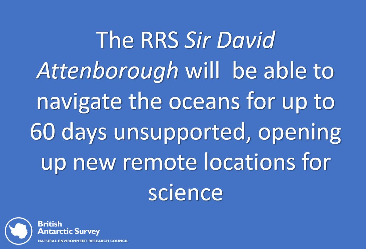 Our New #PolarShip will transform how ship-borne science is conducted in the Poar Regions bas.ac.uk/polar-operatio… #Antarctica #UKinArctic #YoE